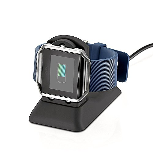 iGK Silicone Replacement Bands Compatible for Fitbit Blaze, Soft