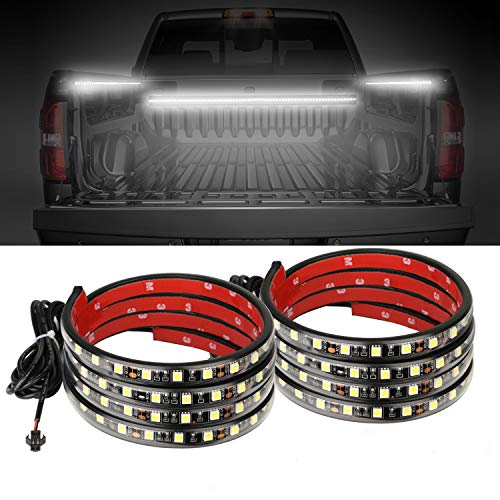 AUTUNEER 60Inch LED Truck Bed Lights, 2PCS White Truck Bed LED Strip